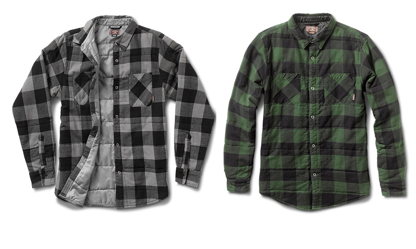 FOURSTAR® ISHOD BUFFALO QUILT L/S - Ishod Wair signature  collection