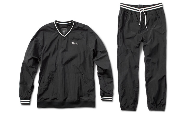 f044a3b0a7963 PRIMITIVE® CREPED WARM-UP SET - Lightweight creped poly pullover and warm-up