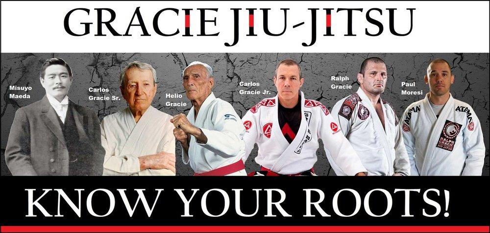 Pure Gracie Jiu-Jitsu. Undiluted.