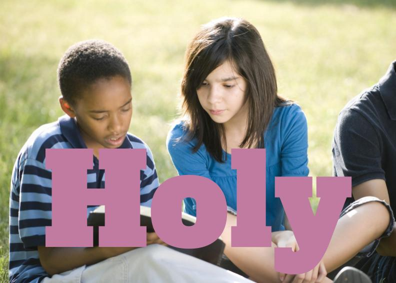 Daring to encourage holiness