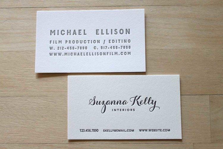 Letterpress business cards brooklyn social cards letterpress card business cardsg colourmoves