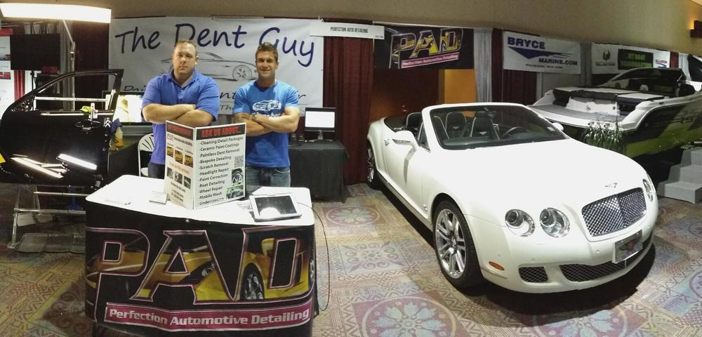 2014 Rochster Auto Show with PAD