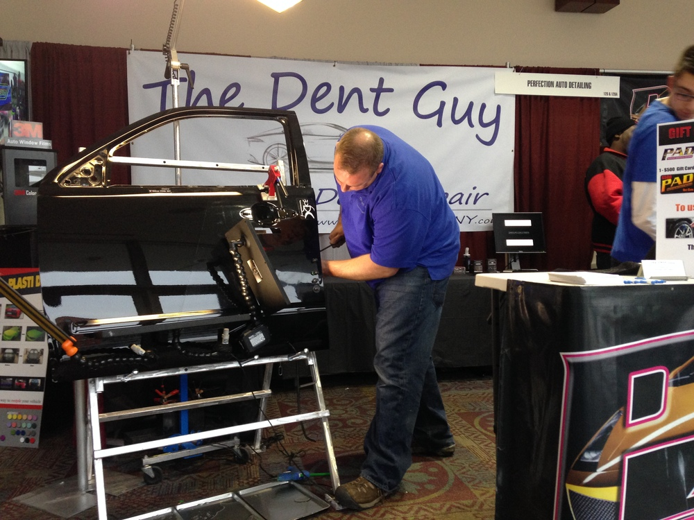 Paintless Dent Repair Demonstration in 2014