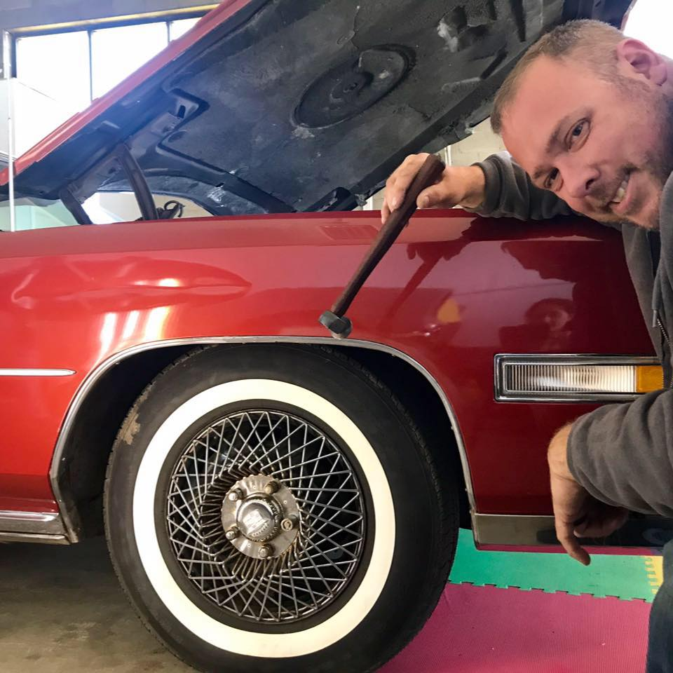 With 29 years experience in automotive panel repair, Dan knows your car. His experience lends to the least intrusive restoration to your vehicle.