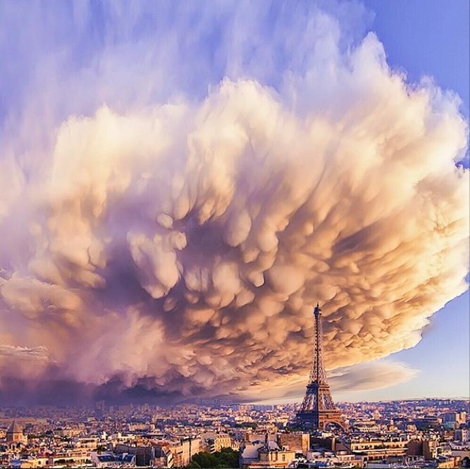 Sandstorm in Paris
