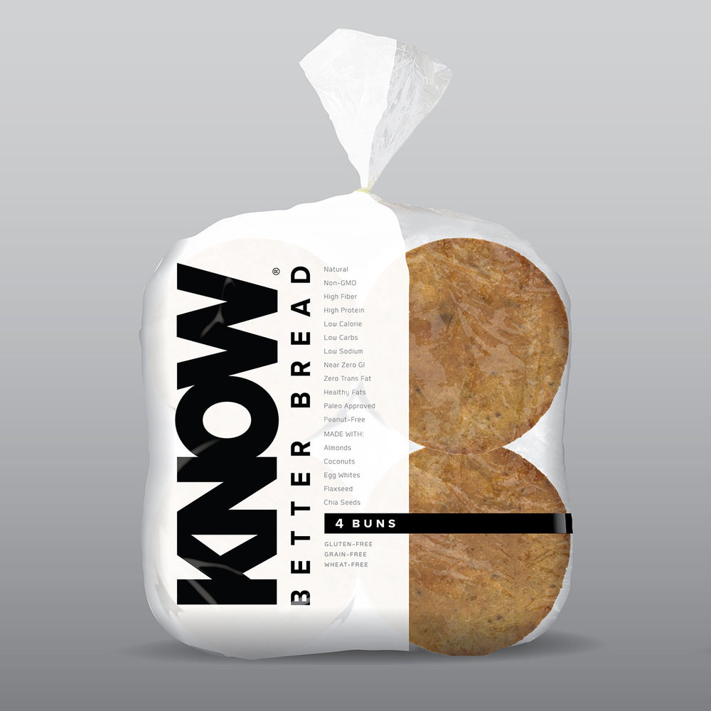 The first natural, non-GMO, grain-free and great tasting alternative to traditional grain-based bread that is gluten, wheat, dairy, peanut, soy, yeast and GUILT-free. KnowFOODS.COM