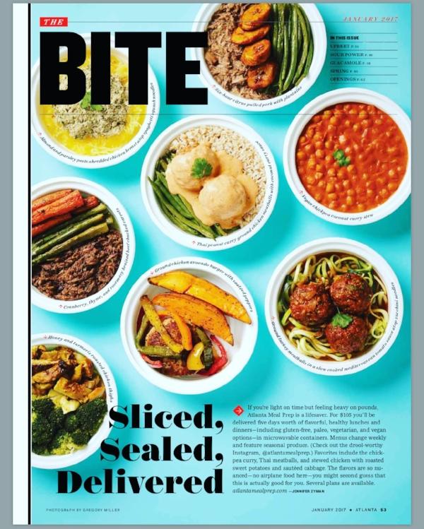 Atlanta Magazine's January 2017 Issue