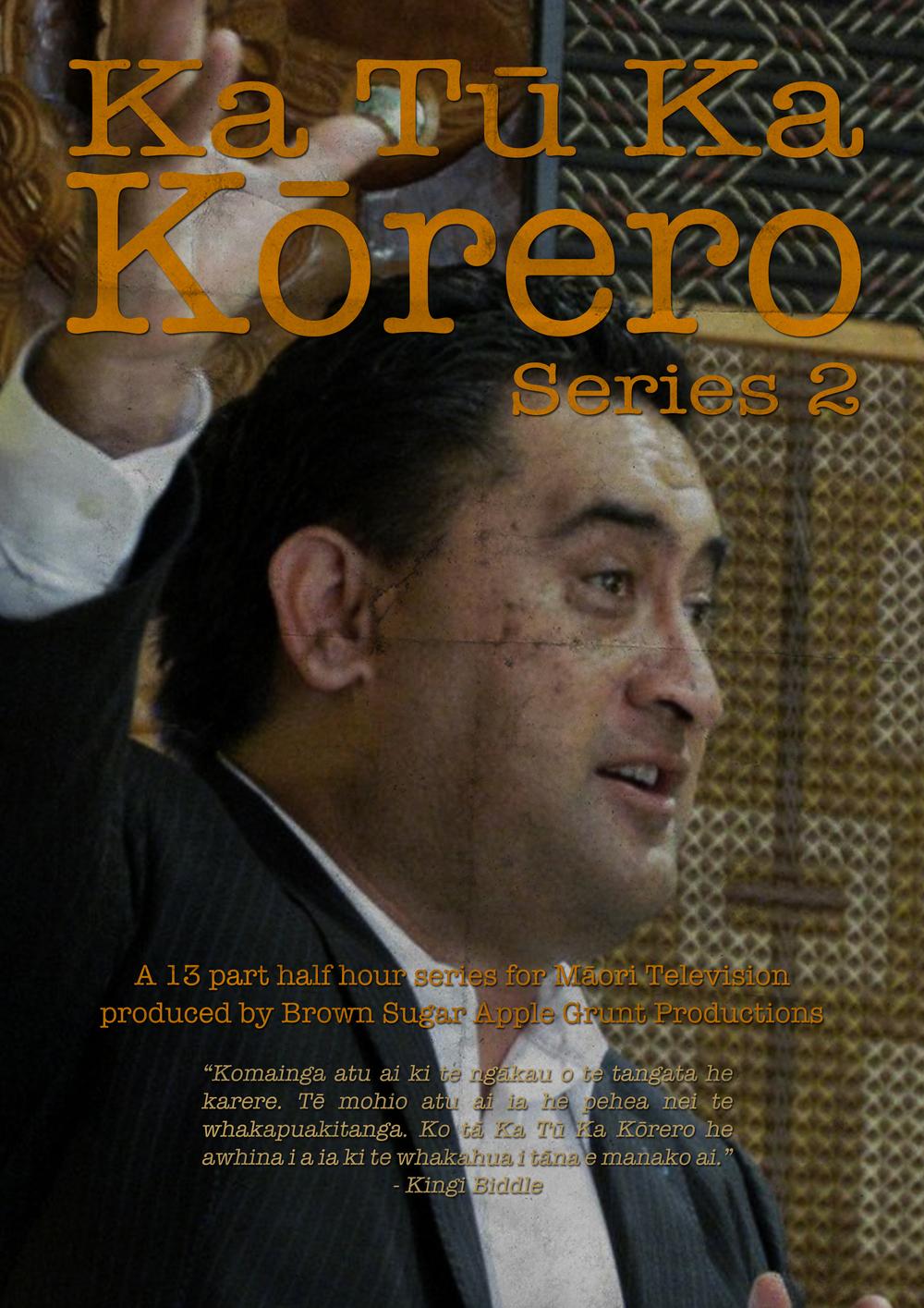 Ka Tū, Ka Kōrero 2. Kingi Biddle returns in this reboot of the series.