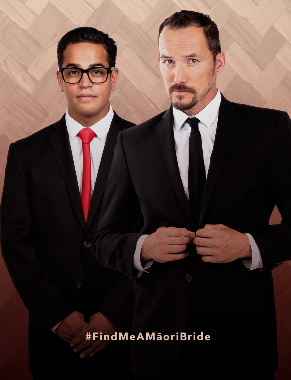 Find Me A Māori Bride. 8 x half hour comedy series. Premieres 22nd May on Māori Television.Cohen Holloway and Matariki Whatarau star in this irreverent new comedy mock-umentary series for Māori Television.