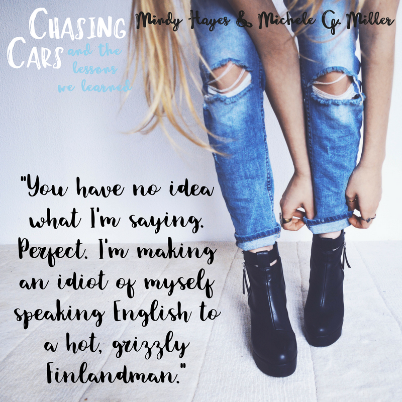 Chasing Cars and the Lessons We Learned. Add it to your  TBR