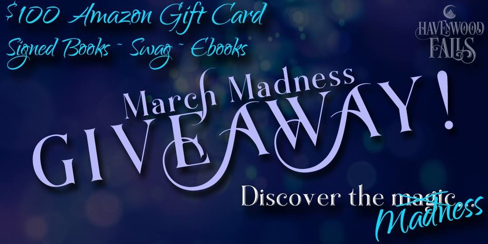 Click here to enter  https://kingsumo.com/…/discover-the-madness-havenwood-falls…  Giveaway ends 3/31!