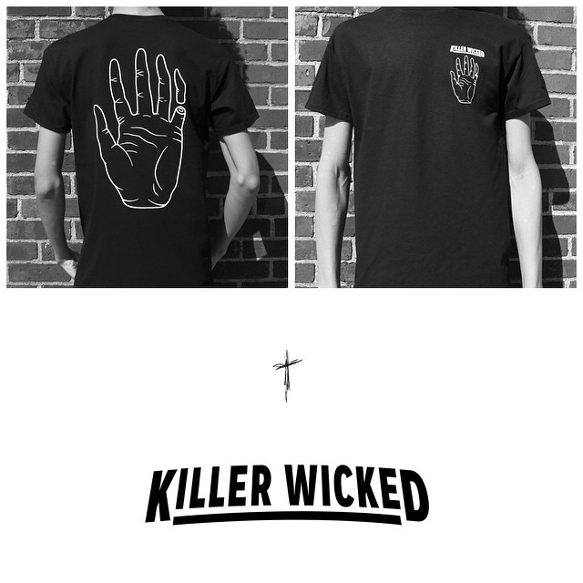 #KILLERWICKED limited team t-shirts will be available this evening on our site.