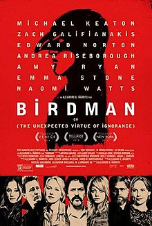 Birdman or (The Unexpected Virtue of Ignorance) (2014) dir. Alejandro Gonzalez Iñárritu Rated: R image: ©2014 Fox Searchlight Pictures