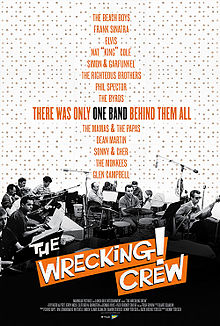 The Wrecking Crew  (2015) dir. Denny Tedesco Rated: PG image: ©2015  Magnolia Pictures
