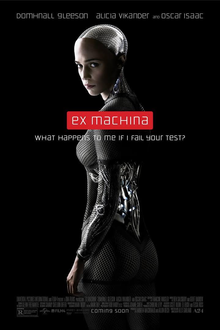 Ex Machina (2015) dir. Alex Garland Rated: R image:©2015 A24