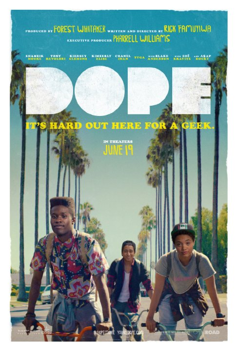 Dope (2015) dir. Rick Famuyiwa Rated: R image: ©2015 Open Road Films