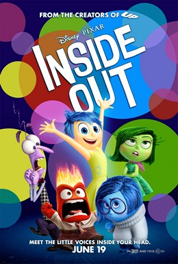 Inside Out (2015) dir. Pete Docter Rated: PG image: ©2015 Disney-Pixar