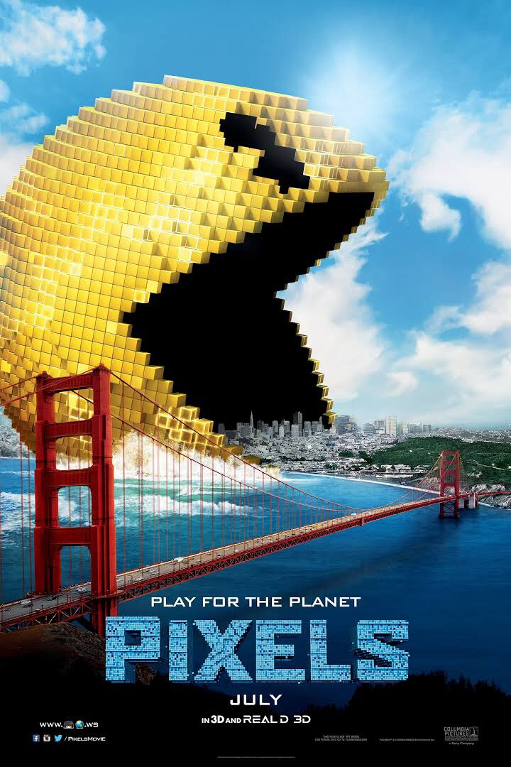 Pixels  (2015) dir. Chris Columbus Rated: PG-13 image: ©2015  Columbia Pictures