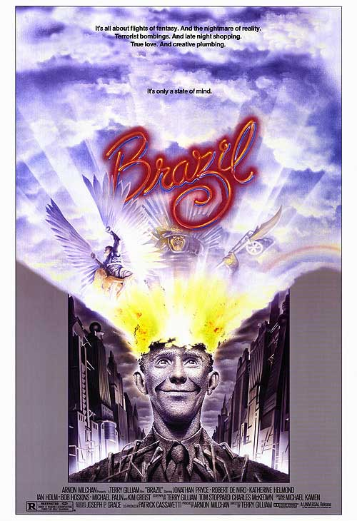 Brazil (1985) dir. Terry Gilliam Rated: R image: ©1985 Universal Pictures