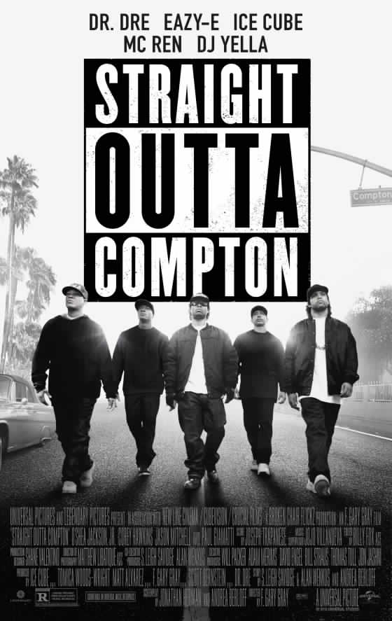 Straight Outta Compton  (2015) dir. F. Gary Gray Rated: R image:©2015  Universal Pictures
