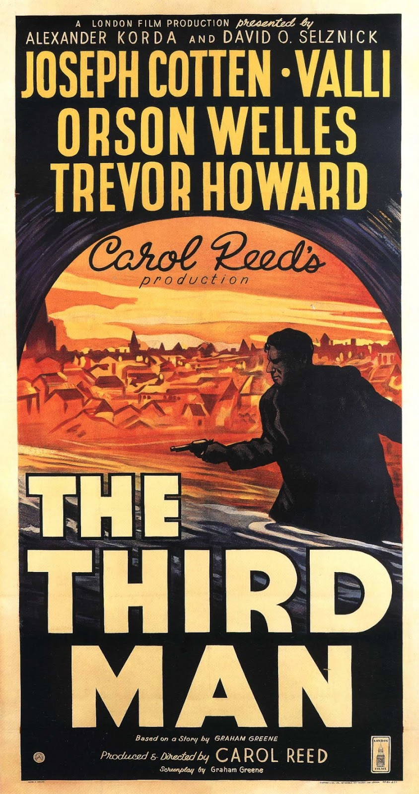 The Third Man  (1949) dir. Carol Reed Rated: N/A image: ©1949  British Lion Films