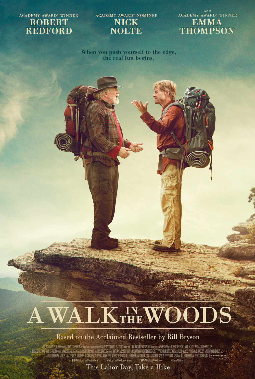 A Walk in the Woods   (2015) dir. Ken Kwapis Rated: R image: ©2015  Broad Green Pictures
