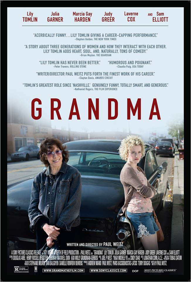 Grandma   (2015) dir. Paul Weitz Rated: R image: ©2015  Sony Pictures Classics