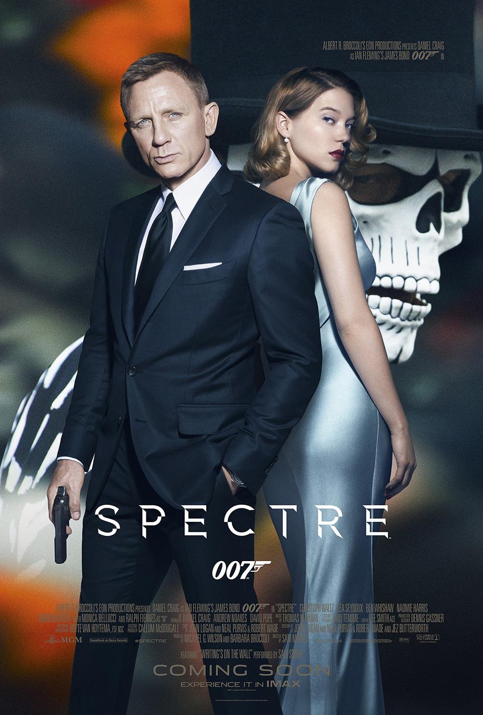 Spectre   (2015) dir. Sam Mendes Rated: PG-13 image:©2015  MGM