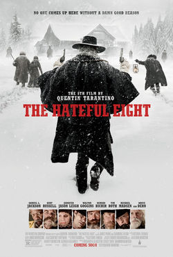 The Hateful Eight   (2015) dir. Quentin Tarantino Rated: R image:  ©2015  The Weinstein Company