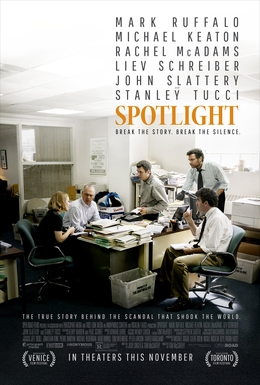 Spotlight (2015) dir. Tom McCarthy Rated: R image:  ©2015 Open Road Films