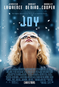 Joy   (2015) dir. David O. Russell Rated: PG-13 image:  ©2015  20th Century Fox