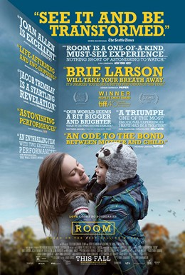 Room (2015) dir. Lenny Abrahamson Rated: R image:  ©2015 A24 Films