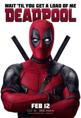 Deadpool (2016) dir. Tim Miller Rated: R image:  ©2016 20th Century Fox