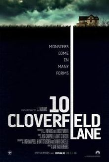 10 Cloverfield Lane   (2016) dir. Dan Trachtenberg Rated: PG-13 image:  ©2016  Paramount Pictures
