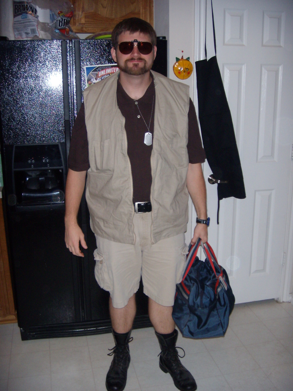 My Halloween costume from 2008 wherein Iu0027m dressed as Walter Sobchak from The Big Lebowski & 10 Cloverfield Lane u2014