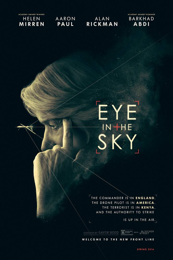 Eye in the Sky (2015) dir. Gavin Hood Rated: R image: ©2015 Entertainment One