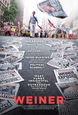 Weiner (2016) dir. Josh Kriegman & Elyse Steinberg Rated: R image: ©2016 Sundance Selects