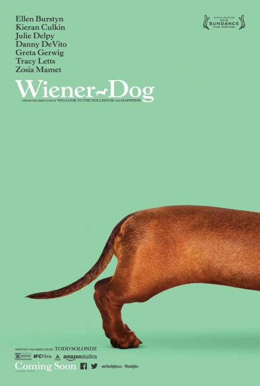 Wiener-Dog (2016) dir. Todd Solondz Rated: R image: ©2016 Amazon Studios