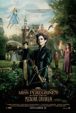 Miss Peregrine's Home for Peculiar Children (2016) dir. Tim Burton Rated: PG-13 image: ©2016 20th Century Fox
