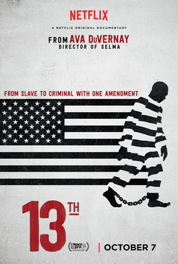 13th   (2016) dir. Ava DuVernay Rated: TV-MA image: ©2016  Netflix