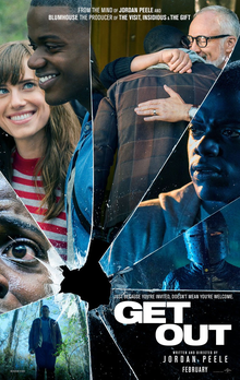 Get Out (2017) dir. Jordan Peele Rated: R image: ©2017 Universal Pictures