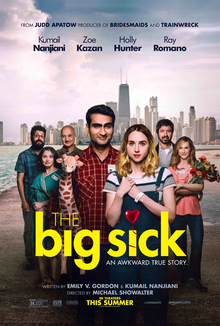 The Big Sick (2017) dir. Michael Showalter Rated: R image: ©2017 Amazon Studios