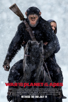 War for the Planet of the Apes   (2017) dir. Matt Reeves Rated: PG-13 image: ©2017  20th Century Fox