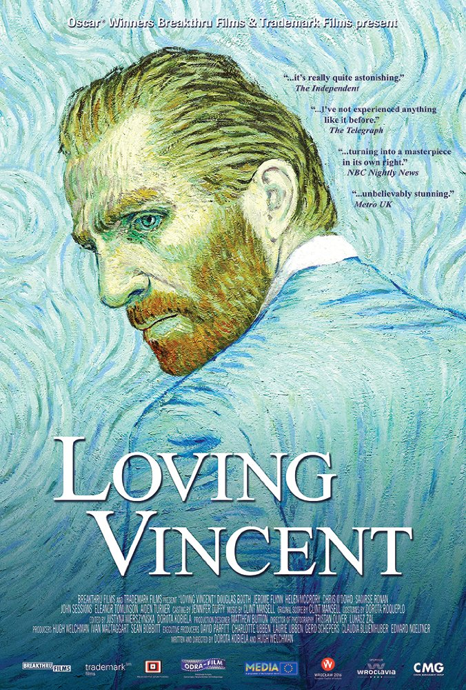 Loving Vincent   (2017) dir. Dorota Kobiela & Hugh Welchman Rated: PG-13 image: ©2017 Good Deed Entertainment