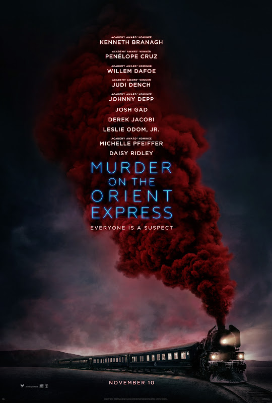 Murder on the Orient Express   (2017) dir. Kenneth Branagh Rated: PG-13 image: ©2017 20th Century Fox
