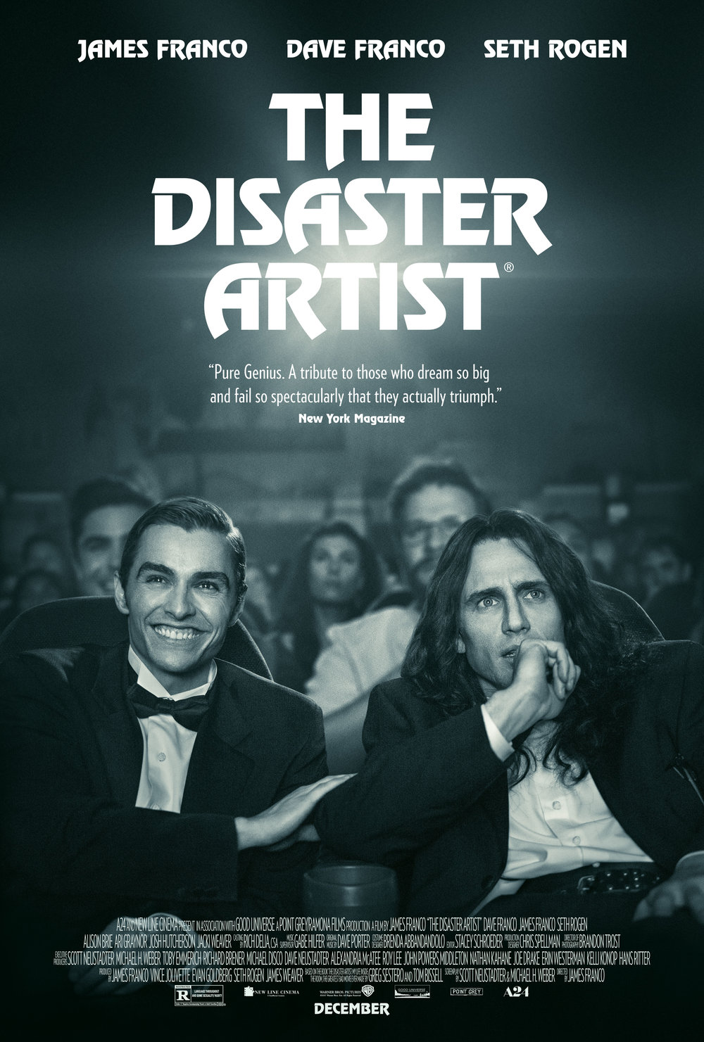The Disaster Artist   (2017) dir. James Franco Rated: R image: ©2017  A24