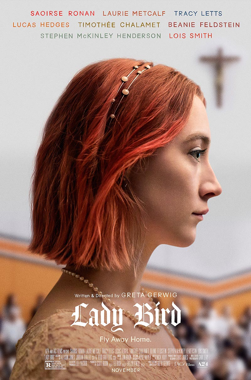 Lady Bird   (2017) dir. Greta Gerwig Rated: R image: ©2017  A24