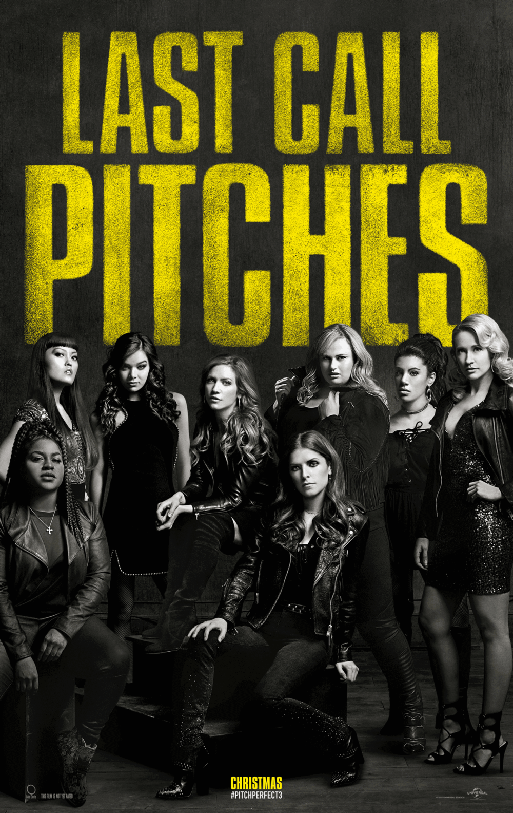 Pitch Perfect 3   (2017) dir. Trish Sie Rated: PG-13 image: ©2017  Universal Pictures