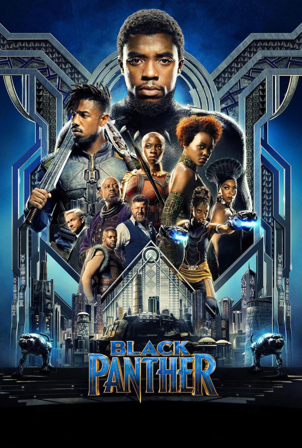 Black Panther   (2018) dir. Ryan Coogler Rated: PG-13 image:©2018  Walt Disney Studios Motion Pictures