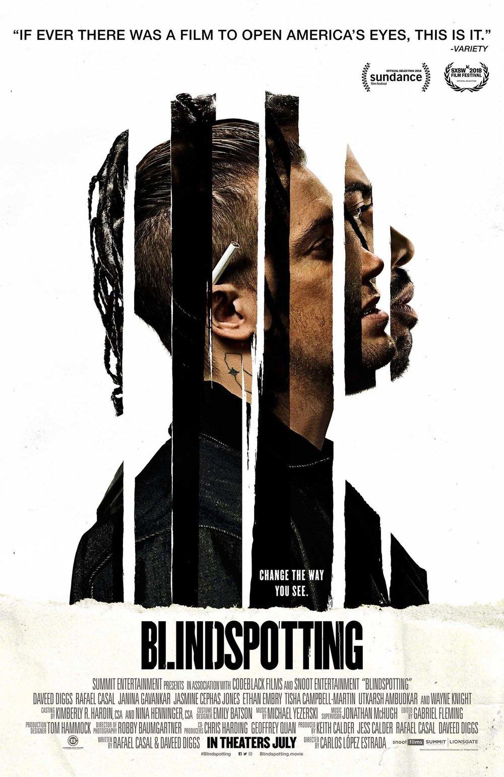 Blindspotting   (2018) dir. Carlos López Estrada Rated: R image:©2018  Lionsgate